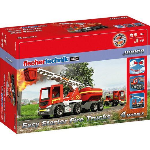 fischertechnik Spiel, »Easy Starter Fire Trucks, Feuerwehrfahrzeug«