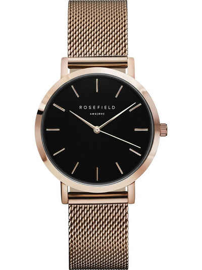 ROSEFIELD Quarzuhr »Rosefield Damen-Uhren Analog Quarz«