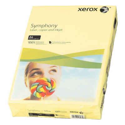Xerox Drucker- und Kopierpapier »Symphony«, Pastellfarben, Format DIN A4, 80 g/m²