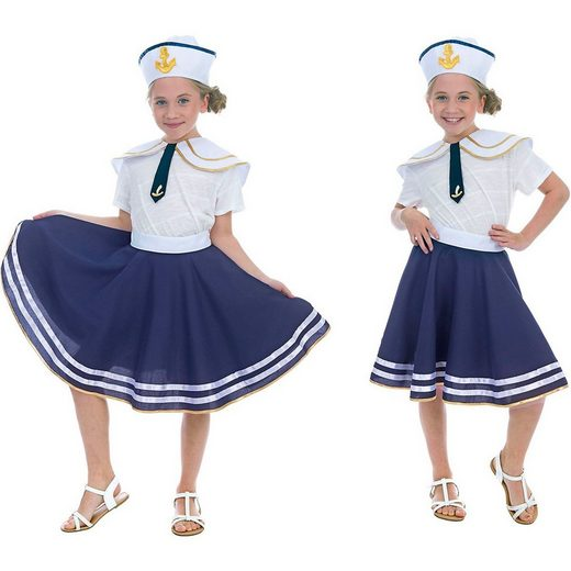 Funny Fashion Kostüm »Marine Set, 3-tlg.«