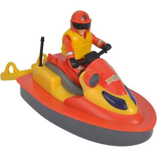 SIMBA Spielzeug-Auto »Feuerwehrmann Sam - Juno, Jet Ski mit Figur«