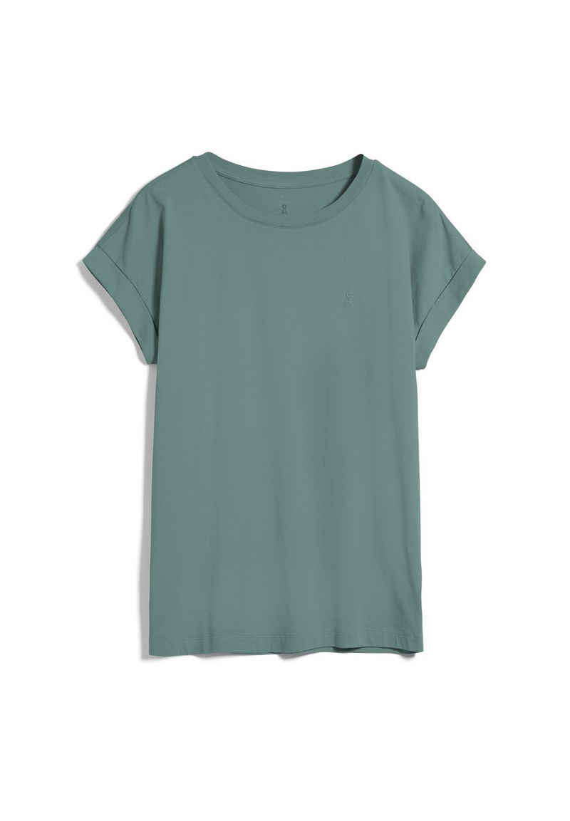 Armedangels T-Shirt »IDAA Damen T-Shirt aus Bio-Baumwolle Loose Fit« (1-tlg)