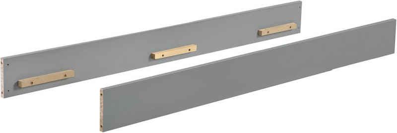 roba® Umbauseiten »Universalumbauseiten, taupe«, passend für Roba Kinderbetten mit Matratzenmaß 70x140