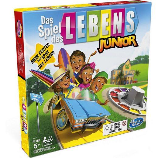 Hasbro Spiel, »Das Spiel des Lebens Junior Brettspiel für Kinder«