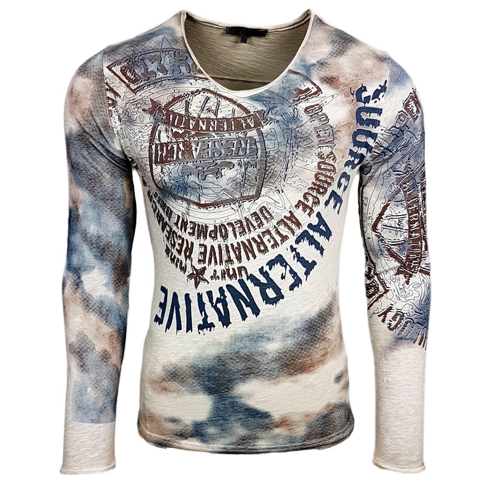 Rusty Neal Langarmshirt, Lässiges Langarmshirt für Herren von Rusty Neal online kaufen | OTTO