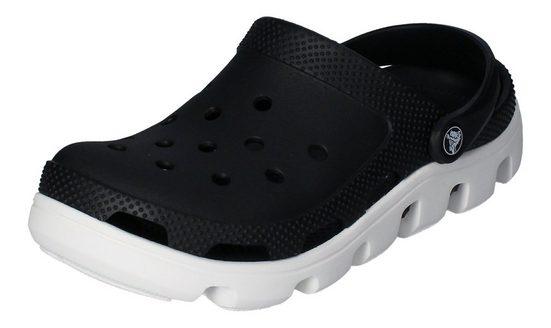 Crocs »Duet Sport Clog« Clog Black/White