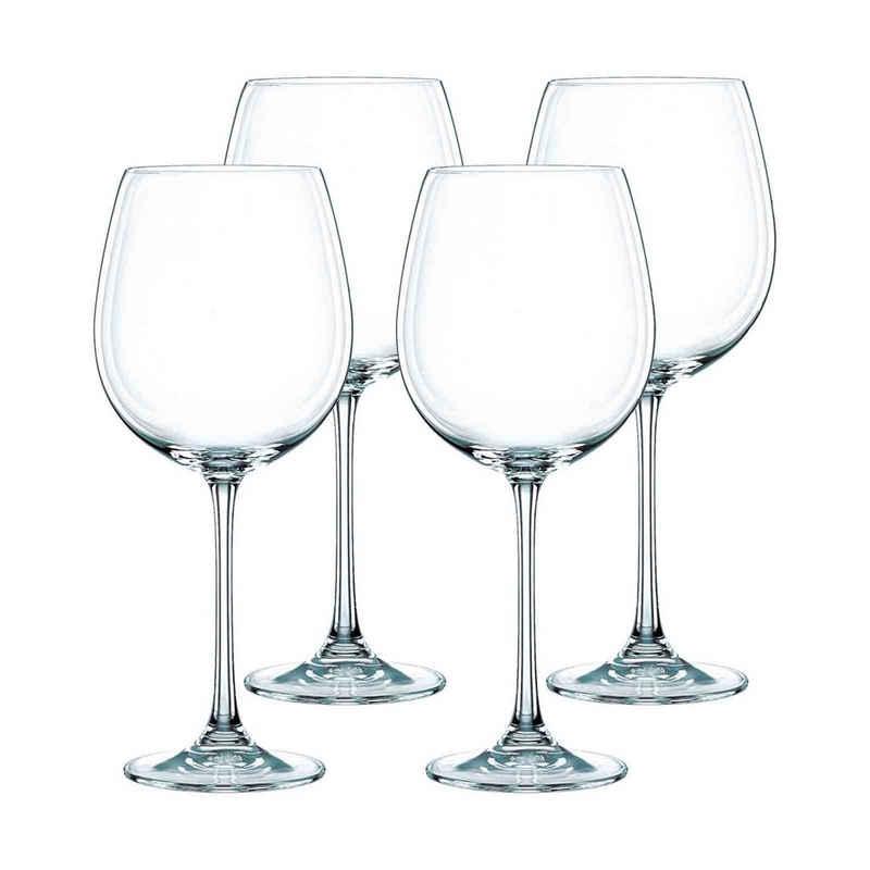 Nachtmann Rotweinglas »Vivendi Rotweinglas 4er Set«, Kristallglas