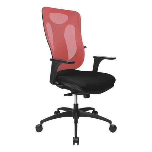 TOPSTAR Schreibtischstuhl »Net Pro 100«, mit Bandscheibensitz und Netzrückenlehne