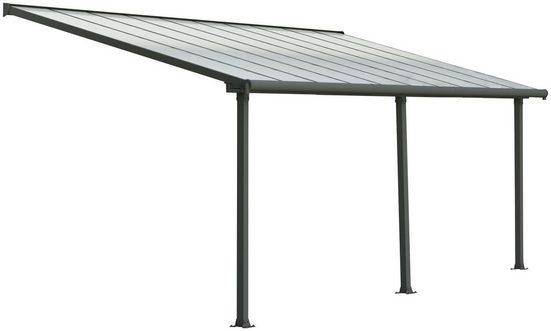 PALRAM Terrassendach »Olympia 3x6.1«, BxT: 619x295 cm