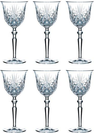 Guido Maria Kretschmer Home&Living Weißweinglas »Palais« (6-tlg), Guidos Favorit, Kristallglas, 213 ml