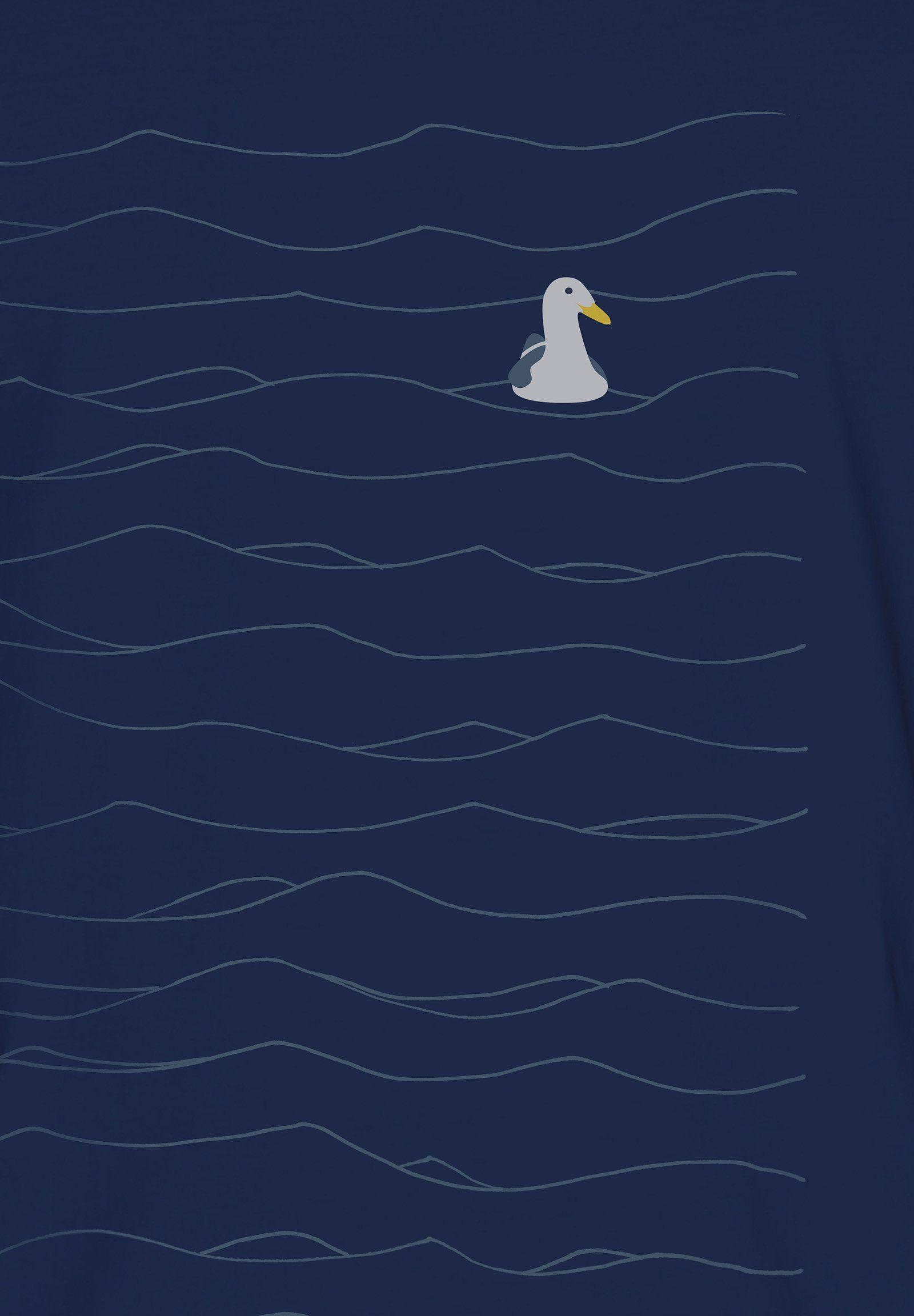 GreenBomb T-Shirt Animal Seagull Guide, Medium Fit