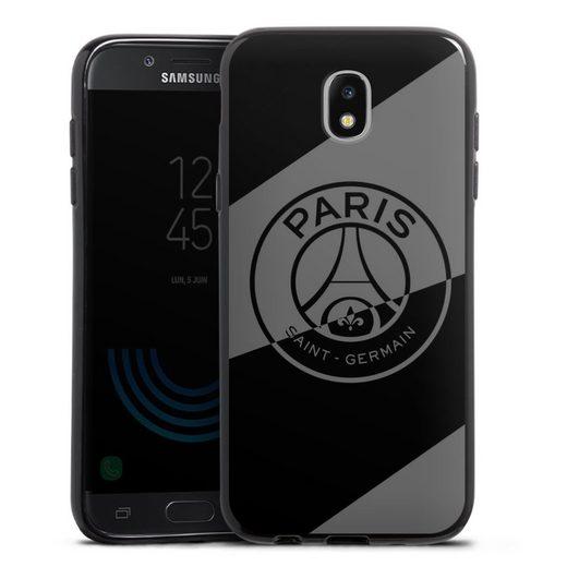 DeinDesign Handyhülle »Dark Layer - PSG« Samsung Galaxy J5 (2017), Hülle Logo PSG Paris Saint-Germain