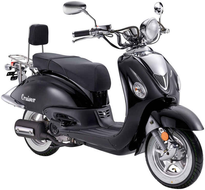 Luxxon Motorroller »Cruiser«, 50 ccm, 45 km/h, Euro 5