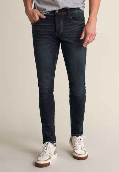 Salsa Skinny-fit-Jeans »Clash« denim, Skinny, Niedrige Taille, Jeans