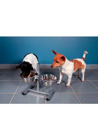 TRIXIE Futterstation »Hundebar« Edelstahl 2 x...