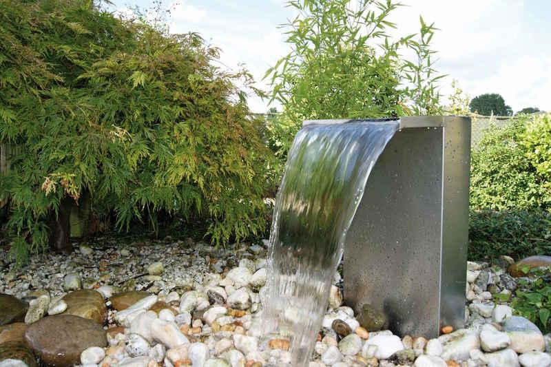 Ubbink Gartenbrunnen »Venezia«, 36,5 cm Breite, (Set, Dekoelement; Pumpe: 4000 l/h, 60W, 10-m-Kabel; LED Beleuchtung; Anschlussmaterial)