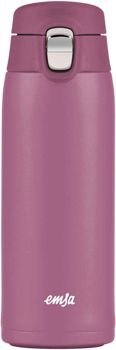Emsa Thermobecher »Travel Mug Light«, Edelstahl, Kunststoff, 100% dicht, 8h heiß, 16h kalt, 400 ml
