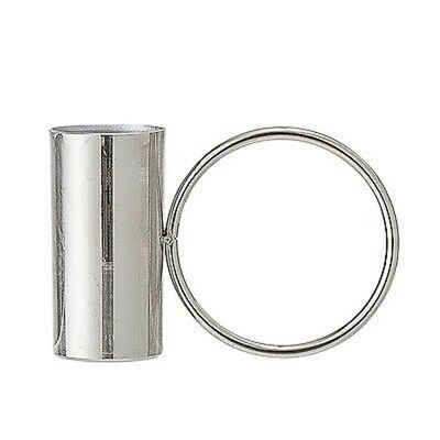 Bloomingville Kerzenhalter »Bloomingville Kerzenhalter silber mit Ring«