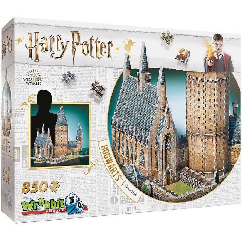 Wrebbit 3D-Puzzle »3D-Puzzle Harry Potter Hogwarts Große Halle 850«, Puzzleteile