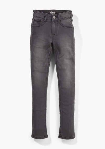 s.Oliver 5-Pocket-Jeans »Skinny: Super skinny-leg Jeans« Waschung