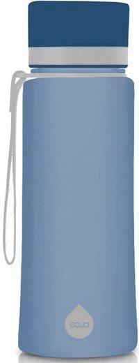 equa Trinkflasche »Plain Midnight«, Tritan-Kunststoff, 600 ml
