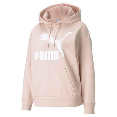 PUMA Sweater »Classics Logo Damen Hoodie«