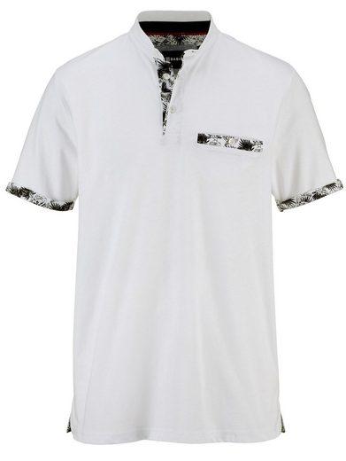Babista Poloshirt mit modischem Stehkragen