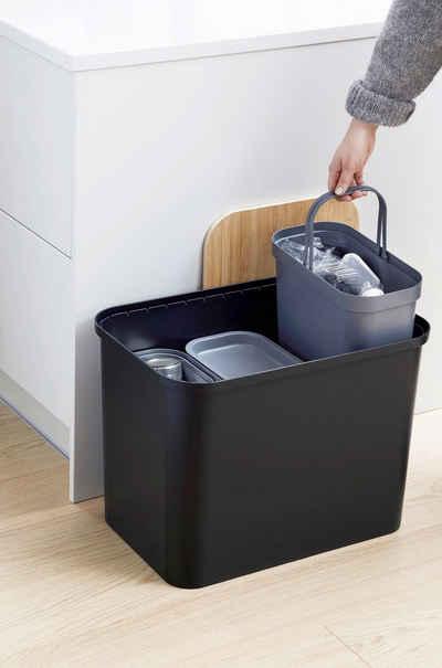 Orthex Mülltonnenbox »Smart Store Collect« (1 Stück), 76 Liter Box mit 3 Einsätzen je 13 Liter