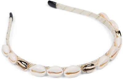 styleBREAKER Haarband »Schmaler Muschel Haarreif«, 1-tlg., Schmaler Muschel Haarreif