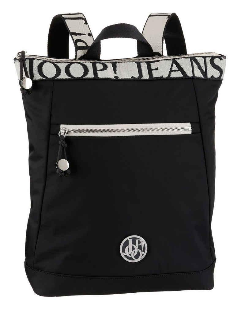 Joop Jeans Cityrucksack »lietissimo elva backpack lvz«, mit modischem Logo Druck