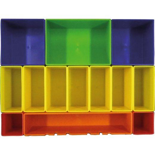 Makita Werkzeugbox »Boxeneinsatz mit farbigen Boxen P-83652«