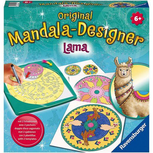 Ravensburger Malvorlage »Original Mandala-Designer: Lama, Midi«