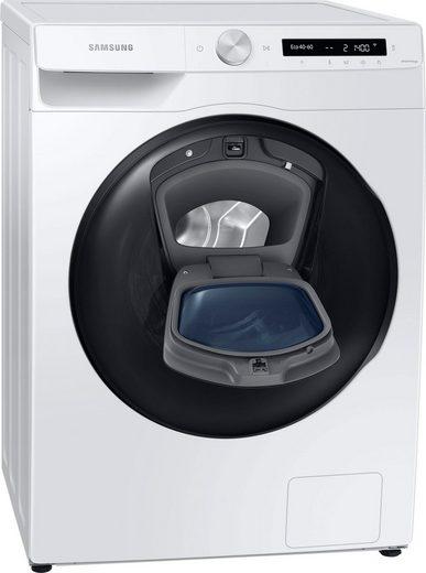Samsung Waschtrockner WD81T554ABW, 8 kg, 5 kg, 1400 U/min, AddWash