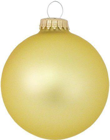 Krebs Glas Lauscha Weihnachtsbaumkugel »CBK78217« (4 Stück)