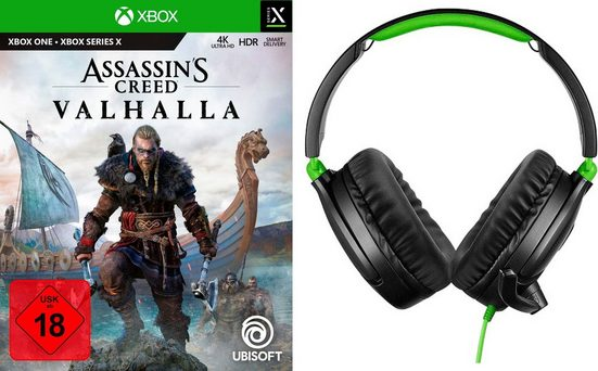 Assassin's Creed Valhalla inkl Gaming-Headset Turtle Beach 70X Xbox One