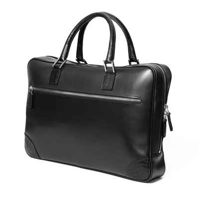Chiccheria Brand Aktentasche »Laptoptasche«, Premium Qualität, echtes Leder, Made in Italy