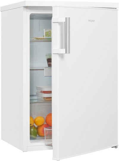 exquisit Kühlschrank KS16-V-H-010D weiss, 85,5 cm hoch, 56 cm breit