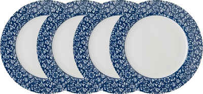 LAURA ASHLEY BLUEPRINT COLLECTABLES Speiseteller »Sweet Allysum«, (4 Stück), Porzellan, 26 cm