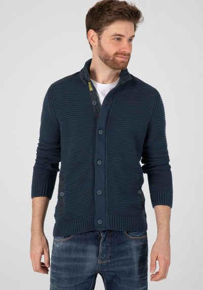 TIMEZONE Strickjacke »Structure Cotton Jacket«
