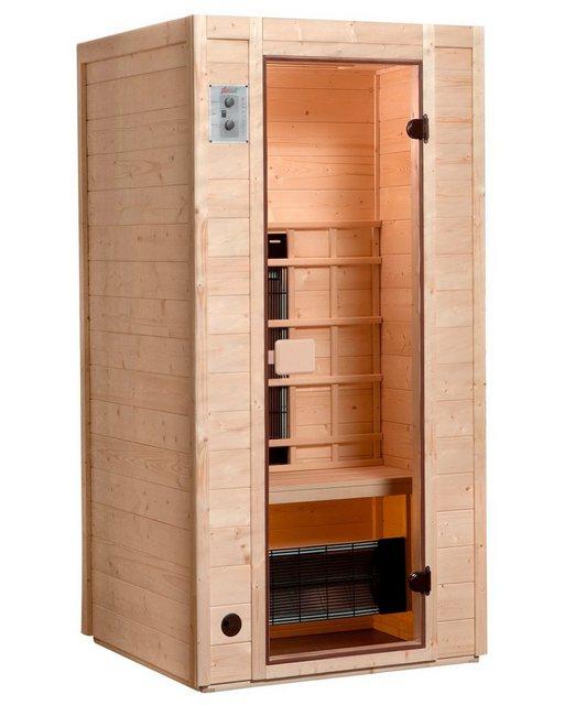 Saunen und Zubehör - weka Infrarotkabine »Provoo 1«, BxTxH 102 x 100 x 190 cm, 19 mm, 19 mm, geeignet für 1 Person  - Onlineshop OTTO
