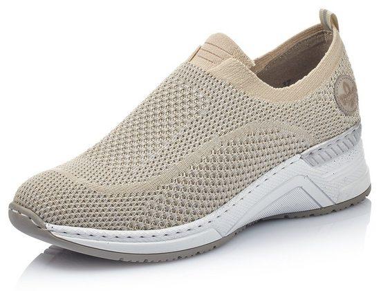Rieker Slip-On Sneaker mit sockenähnlichem Einstieg