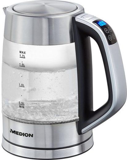 Medion® Wasserkocher MD 10210, 1,7 l, 2200 W