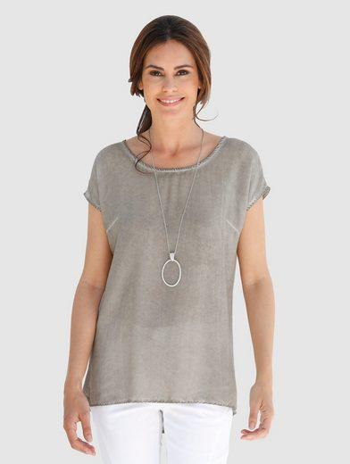 Laura Kent Shirtbluse in modischer Waschung