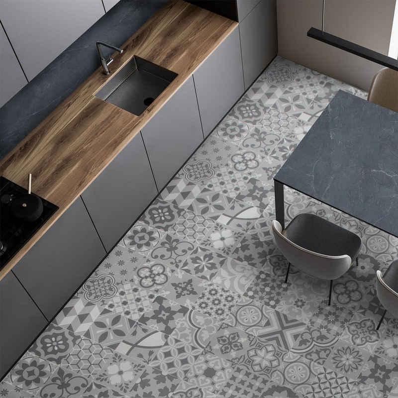 Vinylteppich »CV-Belag Plaza Algarve 090M«, Floordirekt, rechteckig, Höhe 2.8 mm