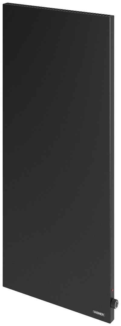 Vasner Infrarotheizung »Konvi VE schwarz«, Hybridheizung vertikal mit Konvektion & Thermostat, 1.200 Watt