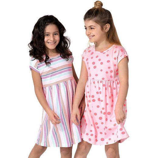 MyToys-COLLECTION Jerseykleid »Kinder Jerseykleider Doppelpack von ZAB kids«