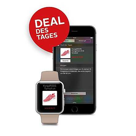 widget, watch, apple, deal des tages