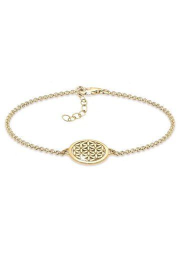 Elli Armband »Lebensblume 925 Sterling Silber«, Lebensblume
