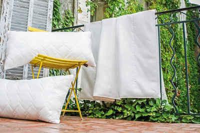 Kunstfaserbettdecke, »Royal«, Centa-Star, Bezug: 100% Baumwolle, High-Tech-Faser-Füllung - bis zu 70% leichter als herkömmliche Fasermaterialien