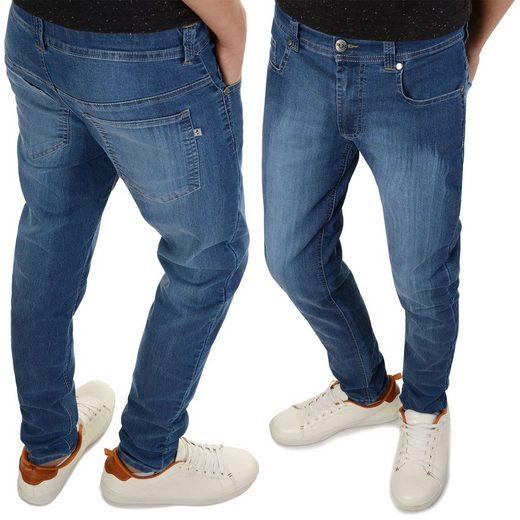 BEZLIT Stretch-Jeans »Jungen Jeanshose mit verstellbaren Bund« (1-tlg)